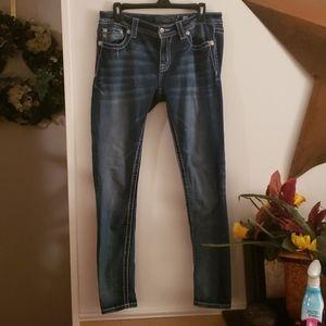 Miss Me Skinny Mid Rise Jeans Size 29